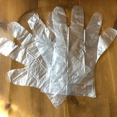 ダイソー カラーリングセット 手袋
