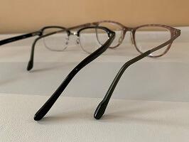 メガネのテンプル(つる)
