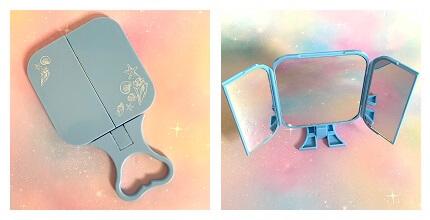 ダイソー 三面鏡