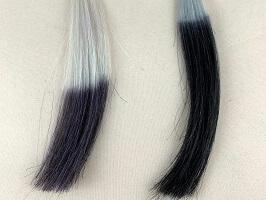 クロエベールと黒髪の比較