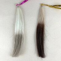 ティアラとダークブラウン髪の比較